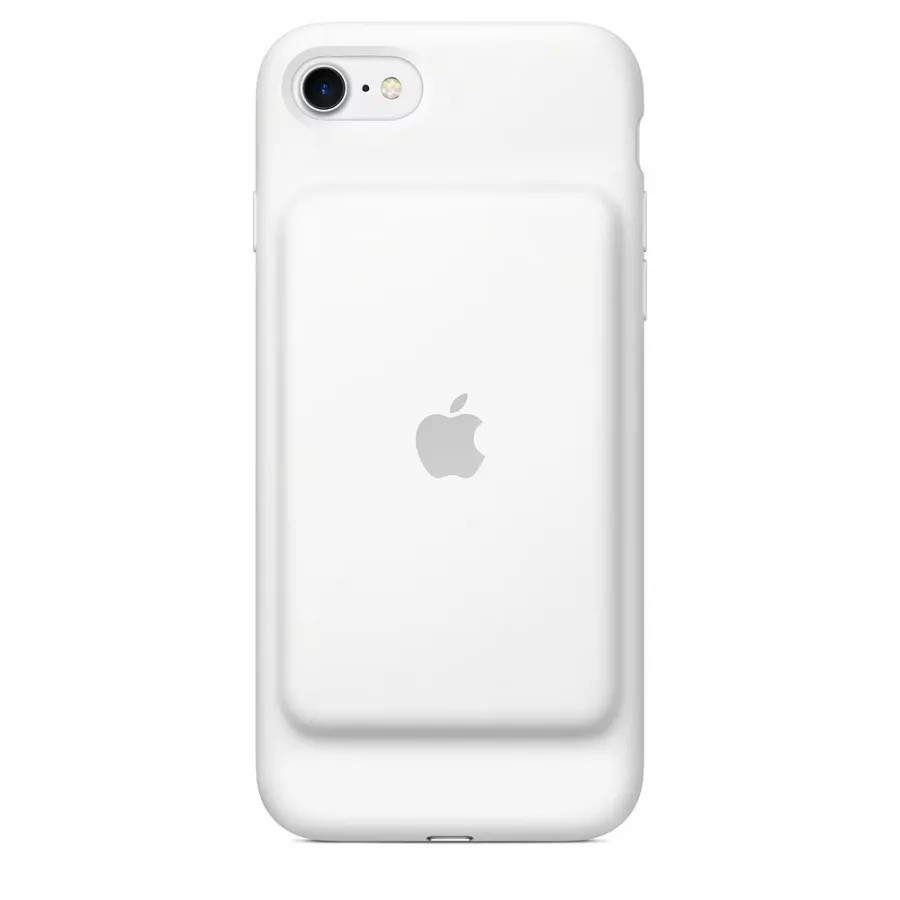 Чехол с аккумулятором Smart Battery Case для Apple iPhone 7/8 - White (Белый). Вид 1