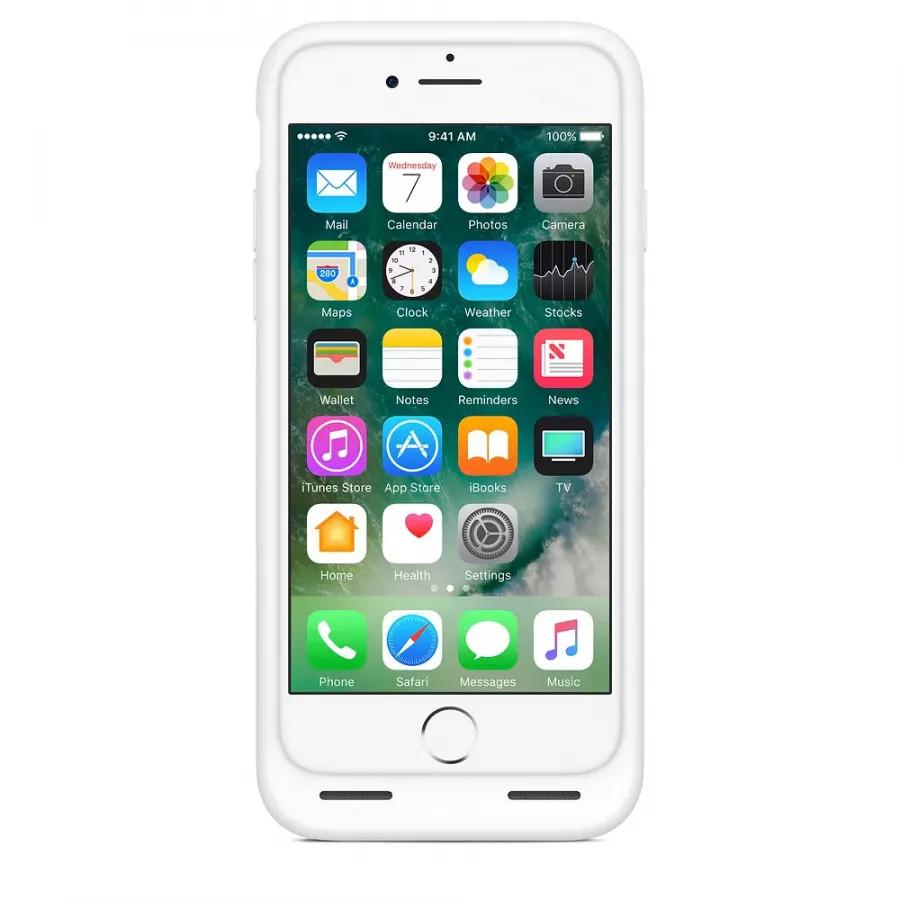 Чехол с аккумулятором Smart Battery Case для Apple iPhone 7/8 - White (Белый). Вид 2