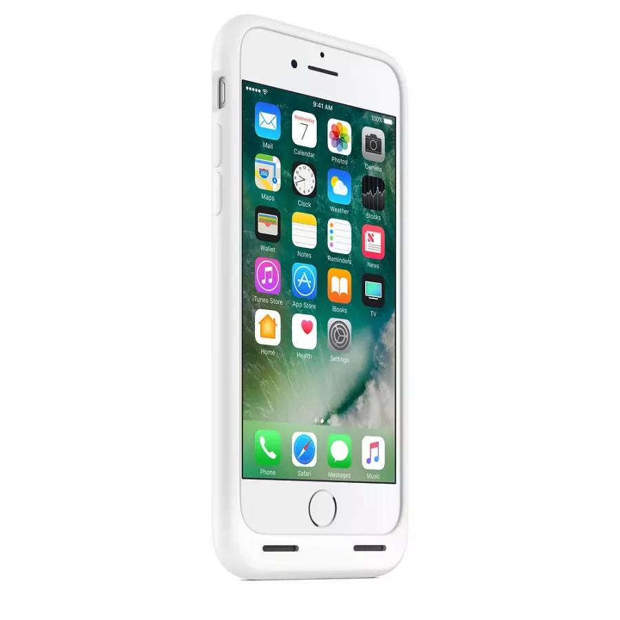 Чехол с аккумулятором Smart Battery Case для Apple iPhone 7/8 - White (Белый). Вид 3