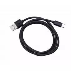 Кабель CableTECH USB-C 1м - Черный