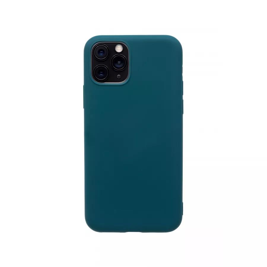 Силиконовый чехол 360 для iPhone 11 Pro - Dark Green. Вид 4
