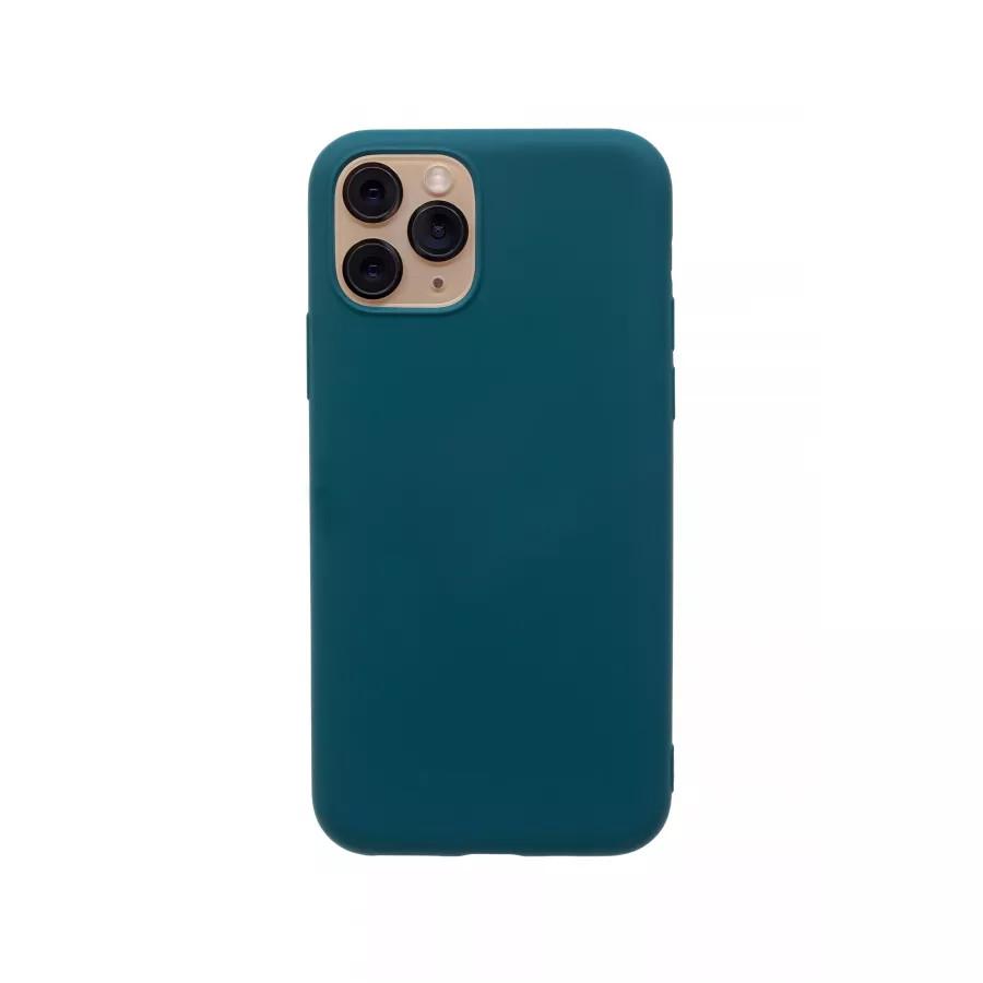 Силиконовый чехол 360 для iPhone 11 Pro - Dark Green. Вид 3