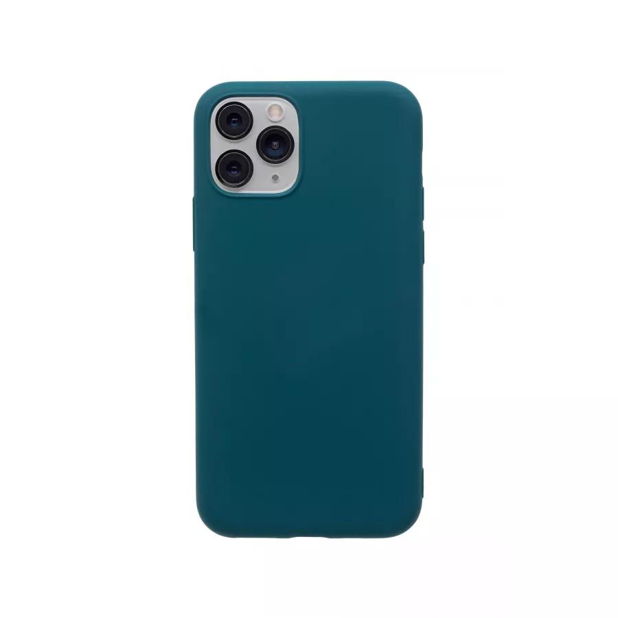 Силиконовый чехол 360 для iPhone 11 Pro - Dark Green. Вид 1