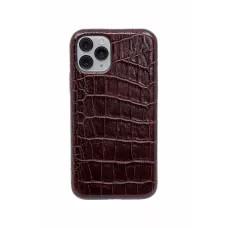Чехол из натуральной кожи для iPhone 11 Pro - Brown