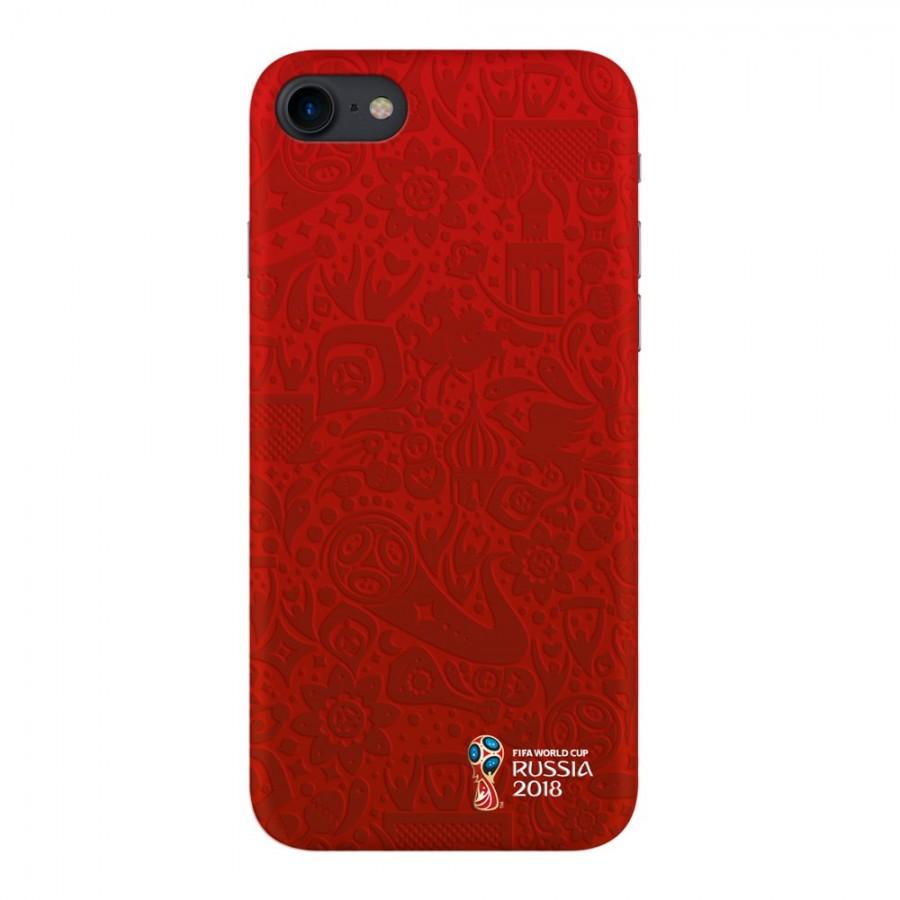 Купить Чехол FIFA_Official Logotype_red TPU Резиновый для Apple iPhone 7/8 в Сочи