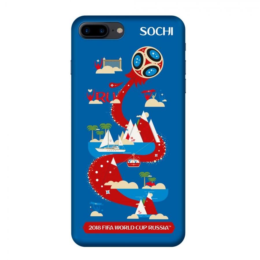 Купить Чехол FIFA_Sochi TPU Резиновый для Apple iPhone 7/8 Plus в Сочи