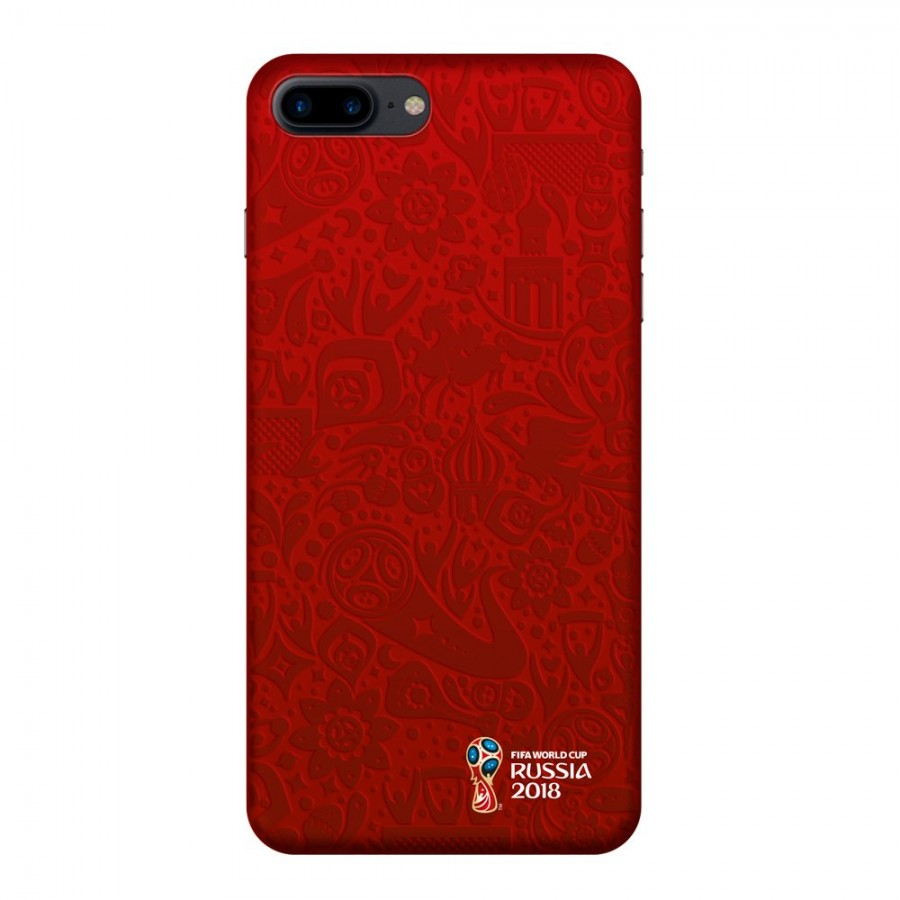 Чехол FIFA_Official Pattern_red PC для Apple iPhone 7/8 Plus