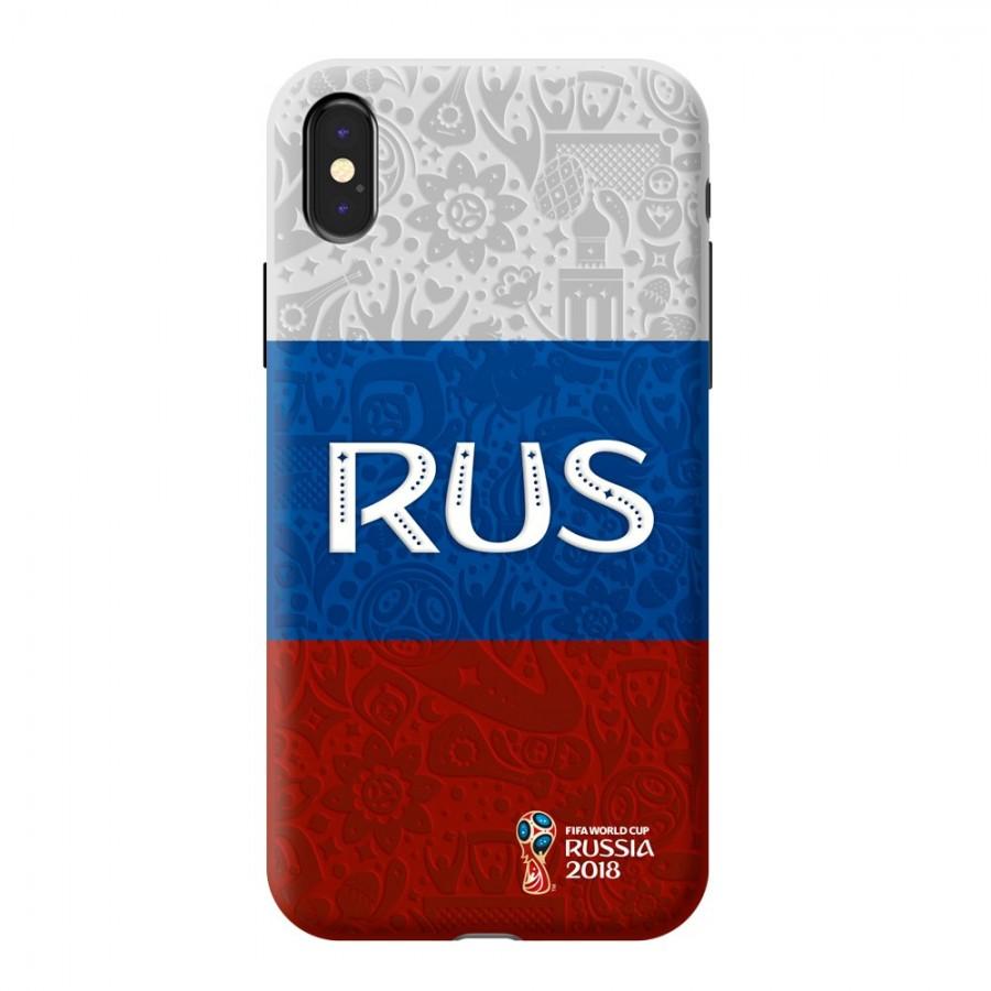 Купить Чехол FIFA_Flag Russia PC для Apple iPhone X в Сочи