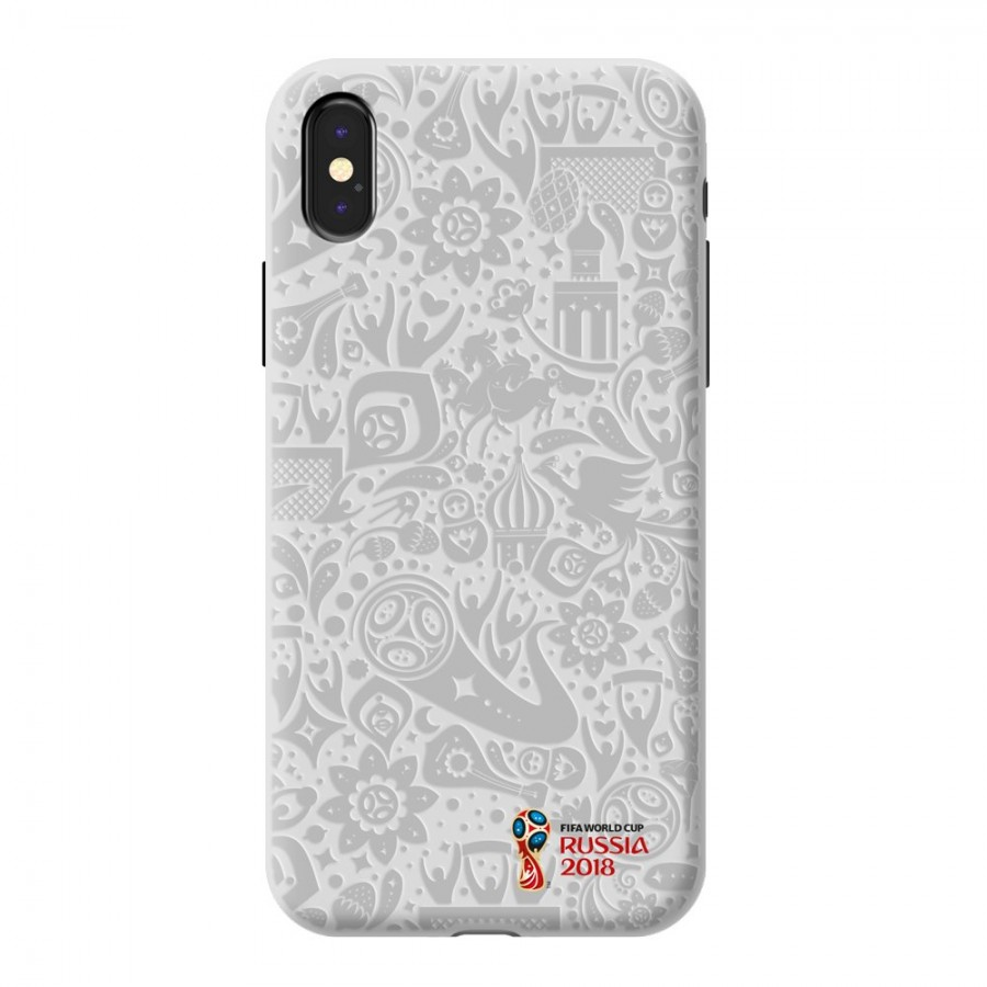 Чехол FIFA_Official Pattern_white PC для Apple iPhone X
