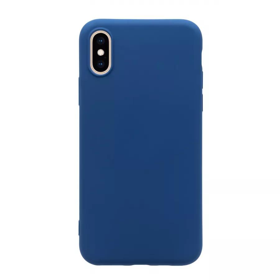 Чехол силиконовый Guard360 для iPhone X/XS - Темно-синий (Navy Blue). Вид 1