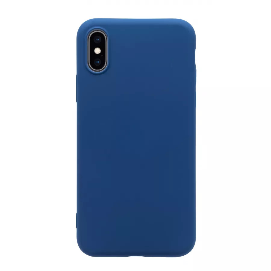 Чехол силиконовый Guard360 для iPhone X/XS - Темно-синий (Navy Blue). Вид 2
