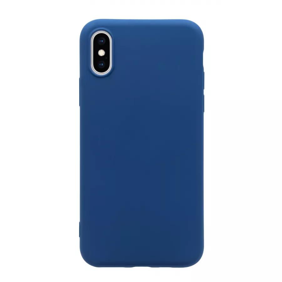 Чехол силиконовый Guard360 для iPhone X/XS - Темно-синий (Navy Blue). Вид 3