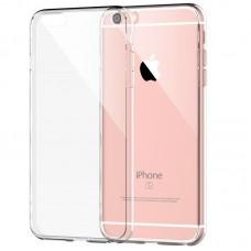 Чехол силиконовый с защитой камеры и заглушками для iPhone 6/6s