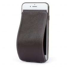 Чехол Marcel-Robert, натуральная кожа для iPhone 7/8/SE - Темно-коричневый
