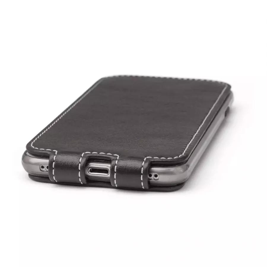 Чехол Marcel-Robert, натуральная кожа для iPhone 7/8/SE - Темно-коричневый. Вид 6