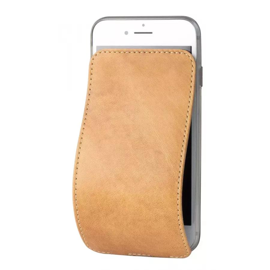 Чехол Marcel-Robert, натуральная кожа для iPhone 7/8/SE - Винтаж. Вид 1