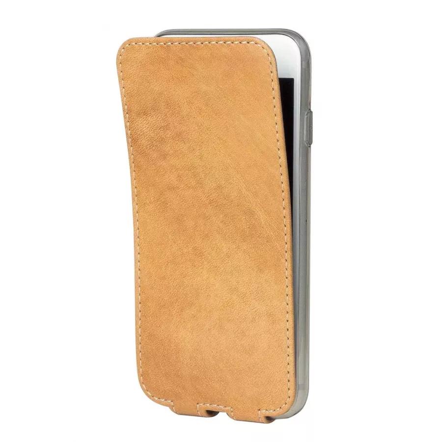 Чехол Marcel-Robert, натуральная кожа для iPhone 7/8/SE - Винтаж. Вид 2