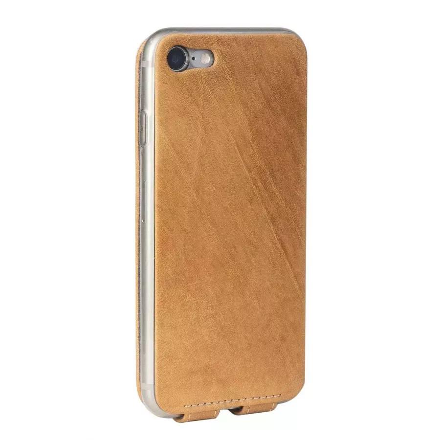 Чехол Marcel-Robert, натуральная кожа для iPhone 7/8/SE - Винтаж. Вид 3