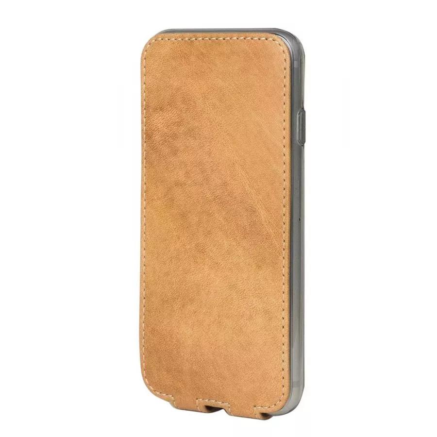 Чехол Marcel-Robert, натуральная кожа для iPhone 7/8/SE - Винтаж. Вид 4