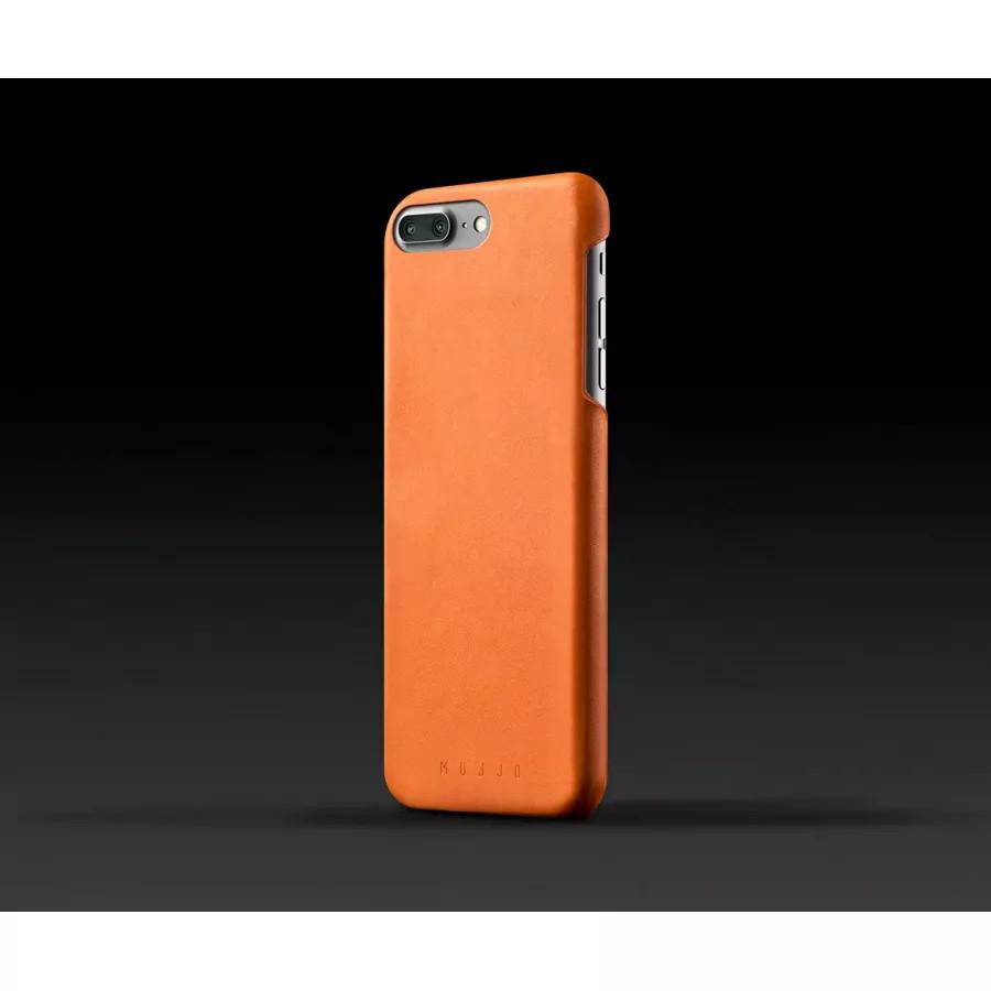 Чехол Mujjo Leather Case для iPhone 7/8 Plus - Светло-коричневый. Вид 2