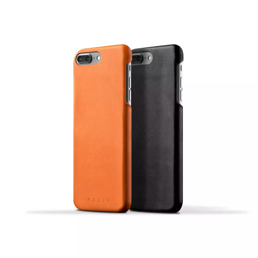 Чехол Mujjo Leather Case для iPhone 7/8 Plus - Светло-коричневый. Вид 4