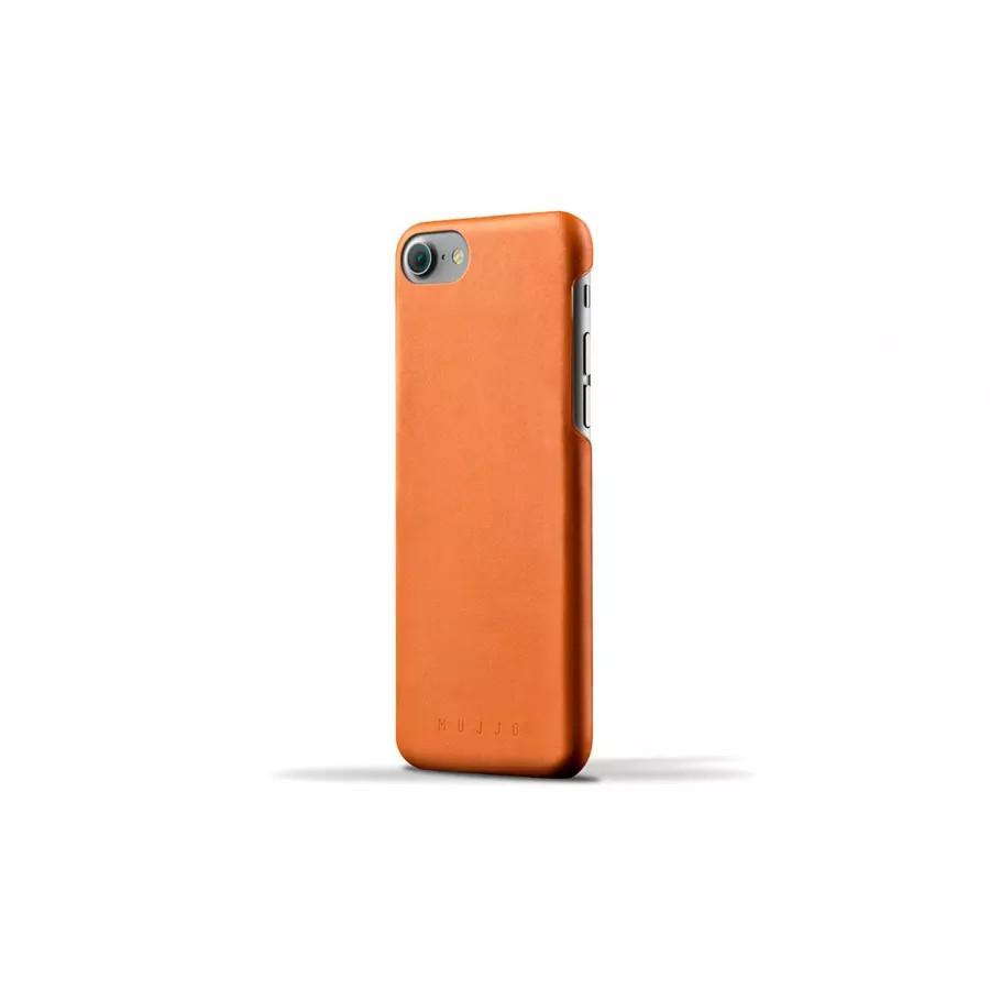 Чехол Mujjo Leather Case для iPhone 7/8/SE - Светло-коричневый. Вид 1