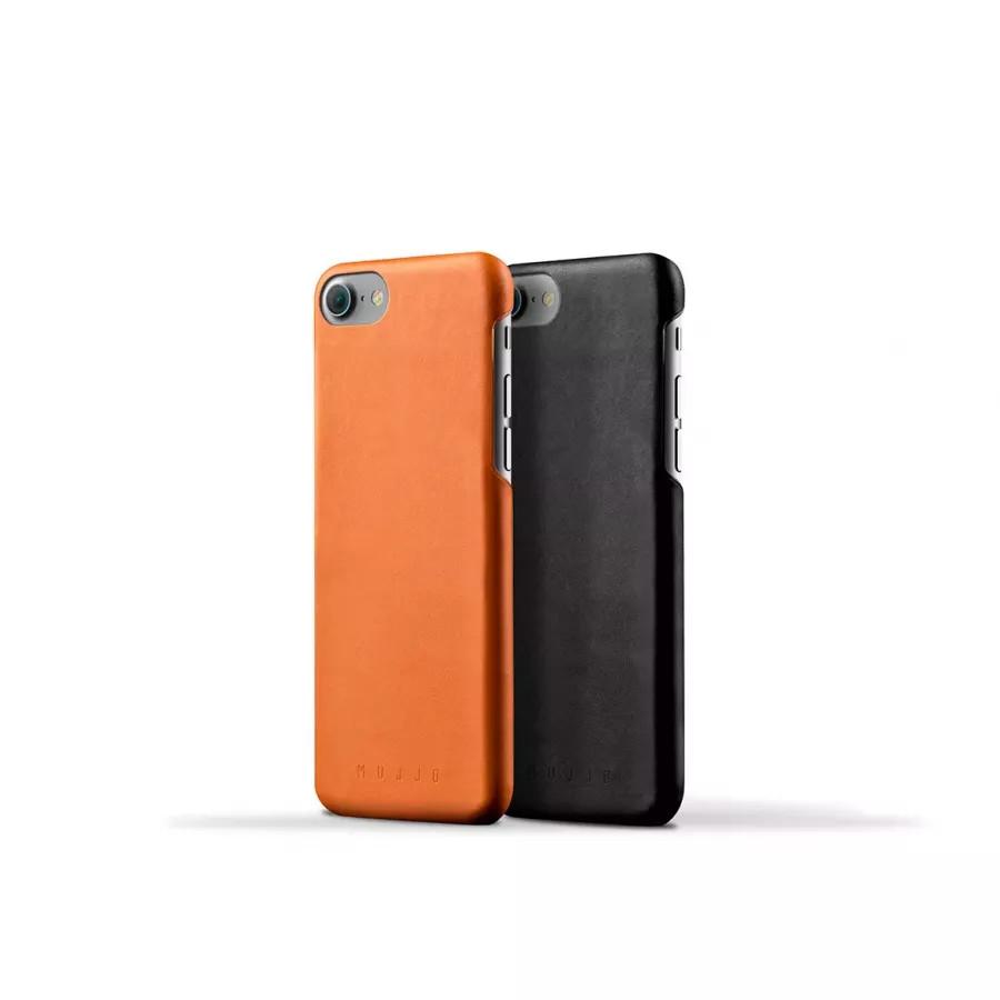 Чехол Mujjo Leather Case для iPhone 7/8/SE - Светло-коричневый. Вид 4
