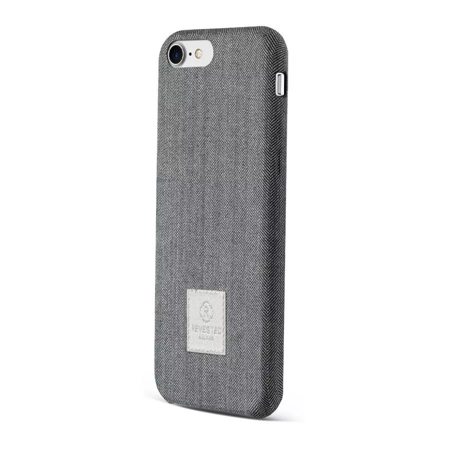 Чехол Revested Timeless Hard для iPhone 7/8/SE - Herringbone Grey. Вид 2