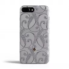 Чехол Revested Silk collection для iPhone 6/6s/7/8 Plus - Silver of Florence