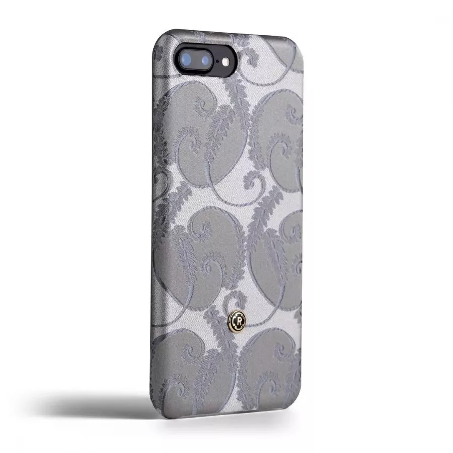 Чехол Revested Silk collection для iPhone 6/6s/7/8 Plus - Silver of Florence. Вид 2