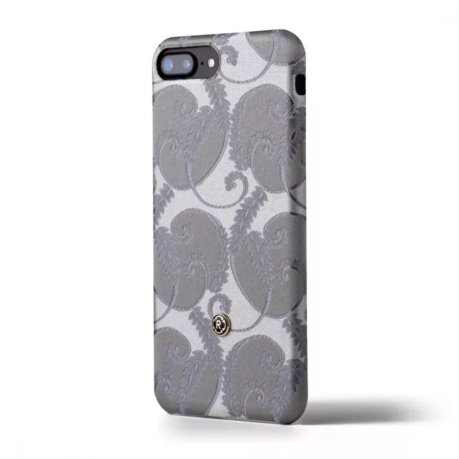 Чехол Revested Silk collection для iPhone 6/6s/7/8 Plus - Silver of Florence. Вид 3