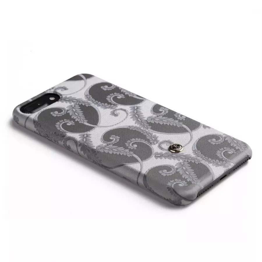 Чехол Revested Silk collection для iPhone 6/6s/7/8 Plus - Silver of Florence. Вид 4