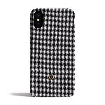 Чехол Revested Timeless Hard для iPhone X/XS - Houndstooth Grey. Вид 1