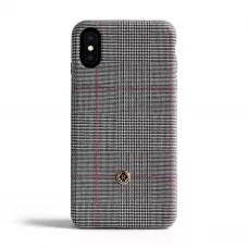 Чехол Revested Timeless Hard для iPhone X/XS - Prince of Wales Grey