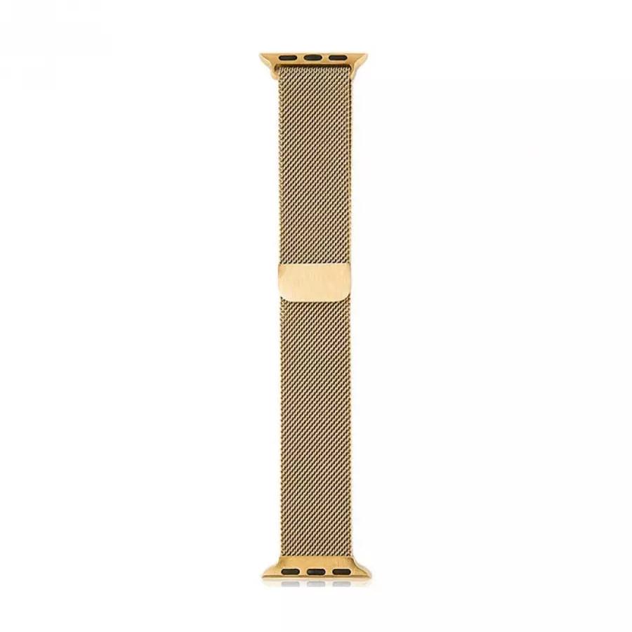 Миланский сетчатый браслет для Apple Watch 38/40mm - Золото. Вид 2