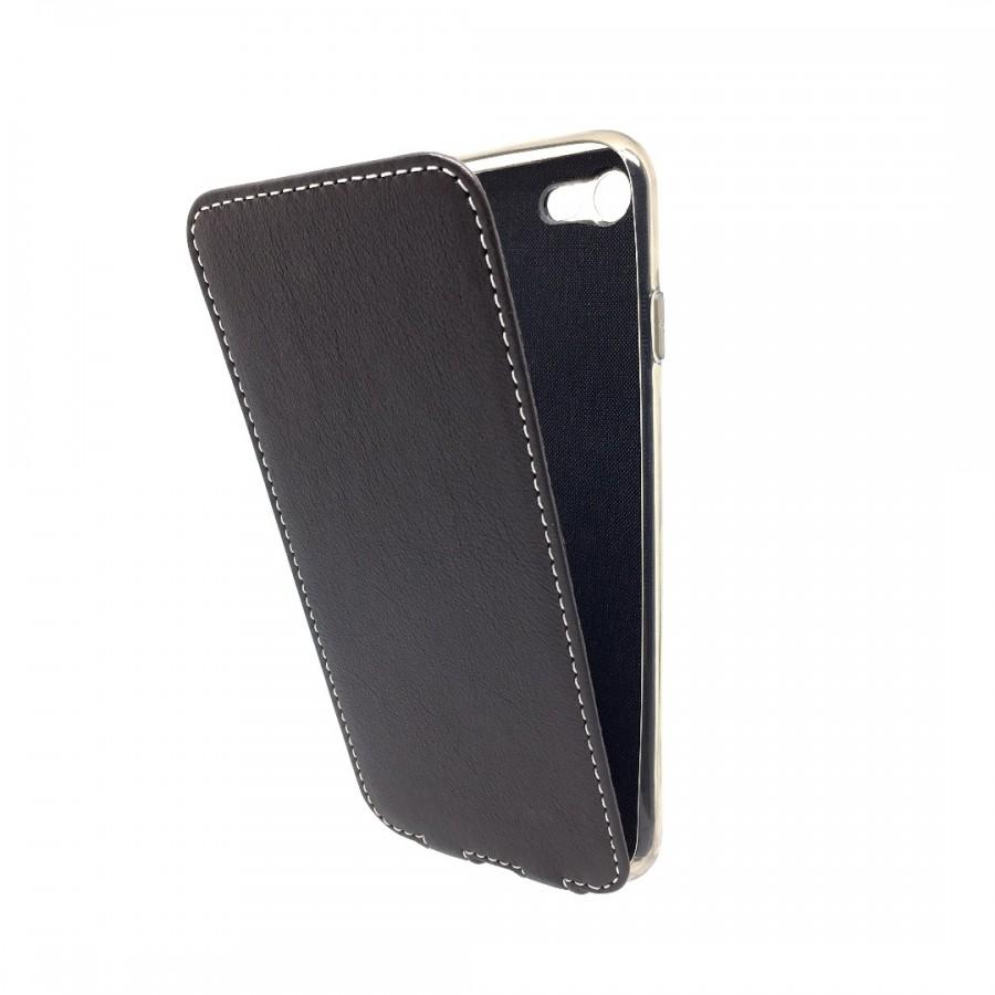 Купить Чехол Marcel-Robert, натуральная кожа для iPhone 7/8 - Темно-коричневый в Сочи