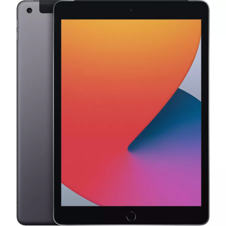 "Apple iPad 8 10.2"" 2020 128ГБ Wi-Fi + Cellular ""Серый космос"". Вид 1"