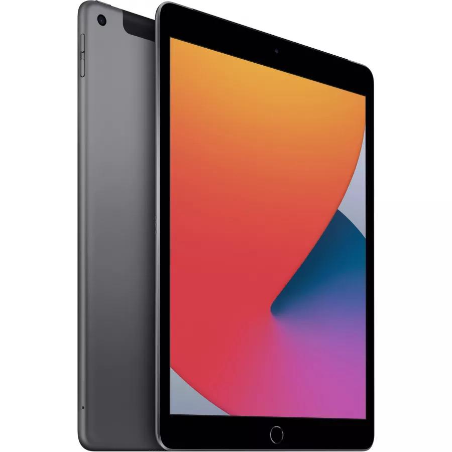 "Apple iPad 8 10.2"" 2020 128ГБ Wi-Fi + Cellular ""Серый космос"". Вид 2"