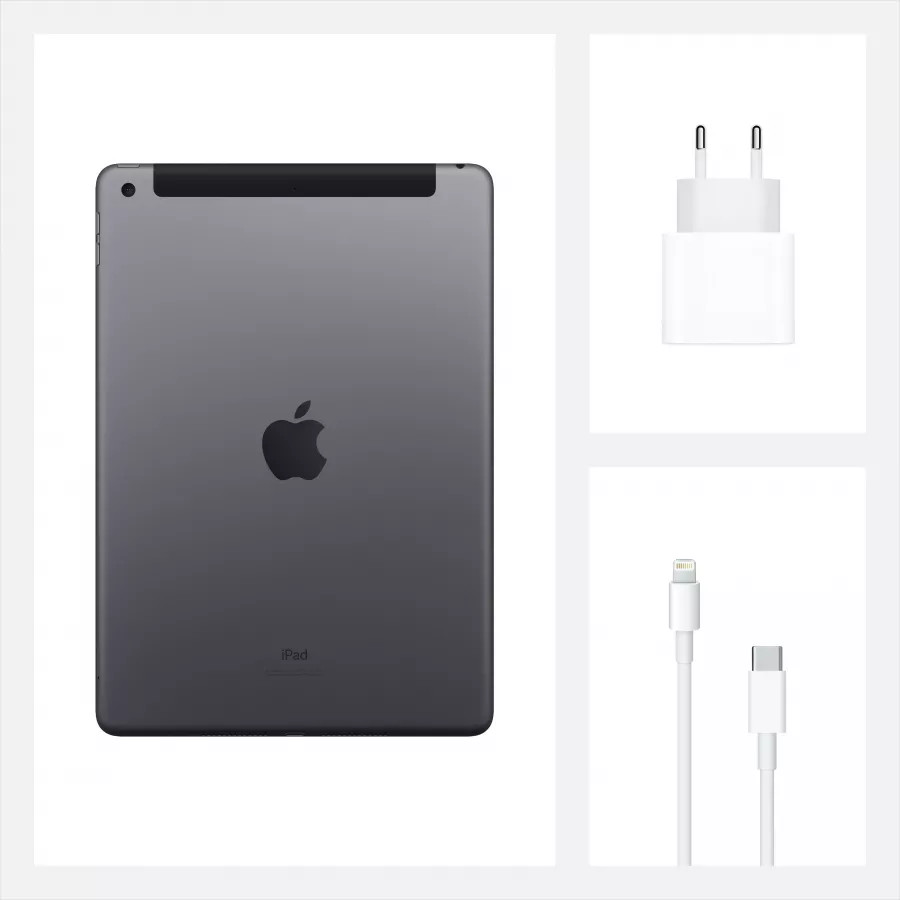 "Apple iPad 8 10.2"" 2020 128ГБ Wi-Fi + Cellular ""Серый космос"". Вид 9"