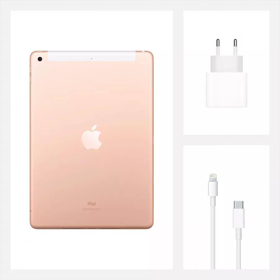 """Apple iPad 8 10.2"""" 2020 128ГБ Wi-Fi + Cellular Золотой. Вид 9"""