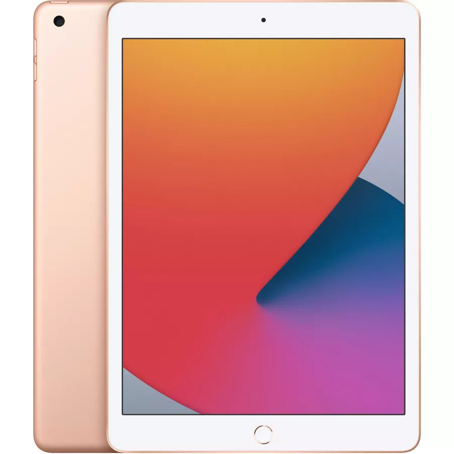 "Apple iPad 8 10.2"" 2020 128ГБ Wi-Fi Золотой. Вид 1"