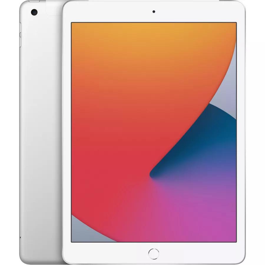 "Apple iPad 8 10.2"" 2020 128ГБ Wi-Fi + Cellular Серебристый. Вид 1"