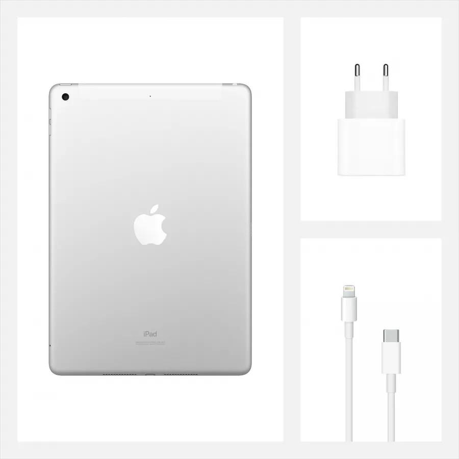 "Apple iPad 8 10.2"" 2020 128ГБ Wi-Fi + Cellular Серебристый. Вид 9"