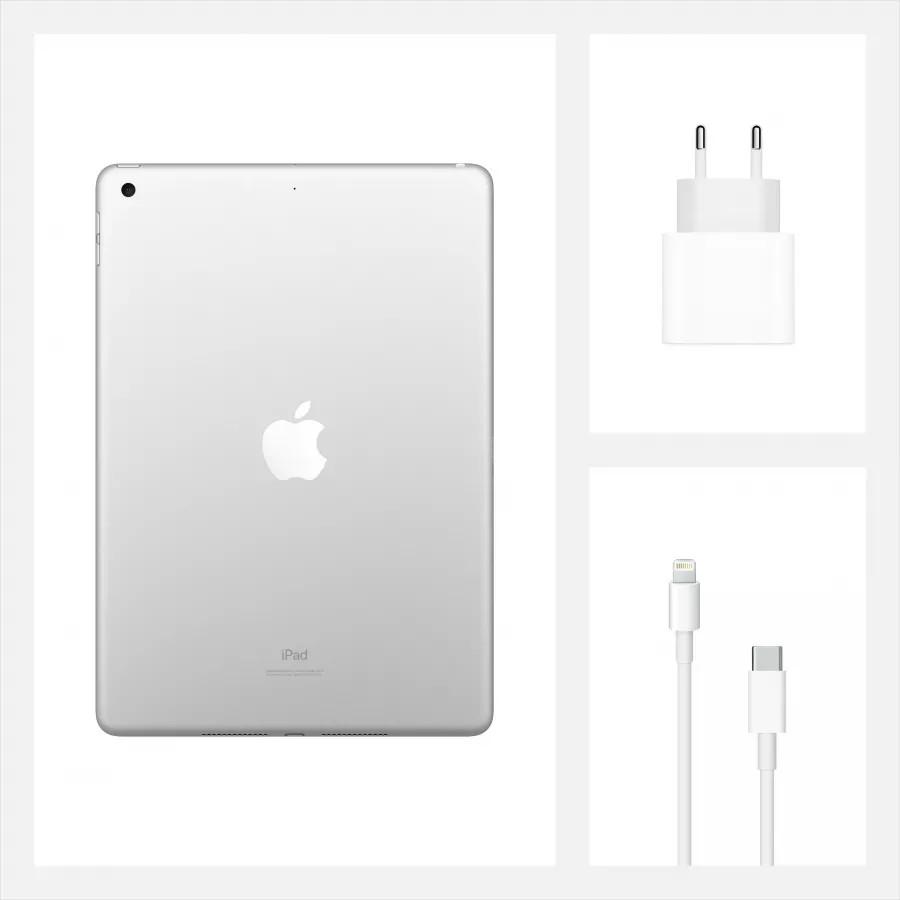 "Apple iPad 8 10.2"" 2020 128ГБ Wi-Fi Серебристый. Вид 9"