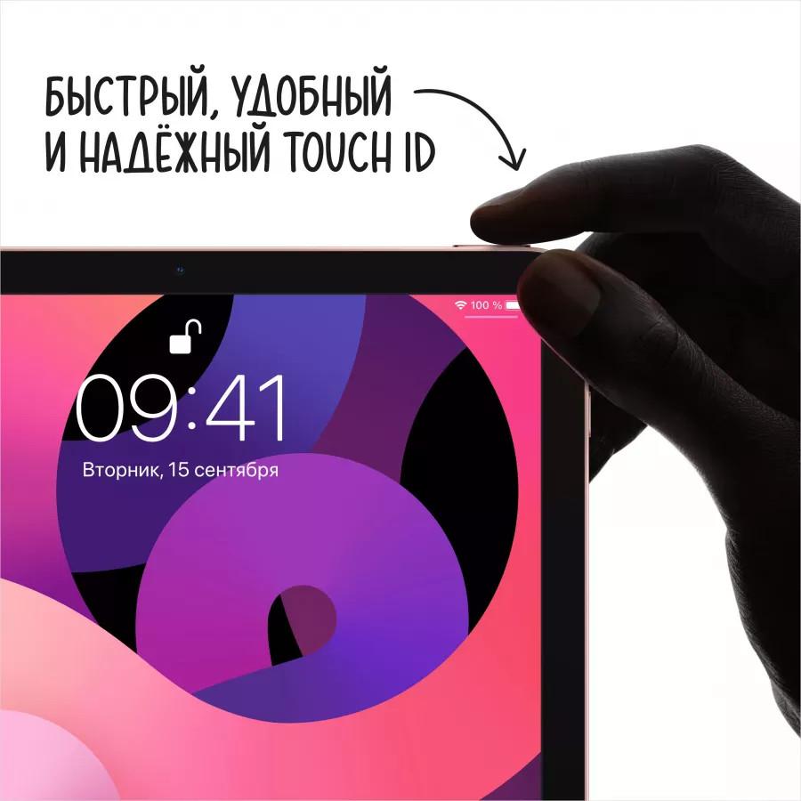 "Apple iPad Air 4 10.9"" 2020 64ГБ Wi-Fi + Cellular Зеленый. Вид 3"
