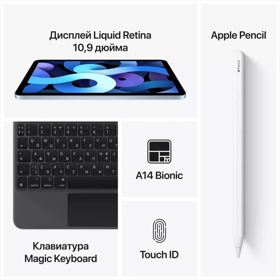 "Apple iPad Air 4 10.9"" 2020 64ГБ Wi-Fi + Cellular Зеленый. Вид 5"