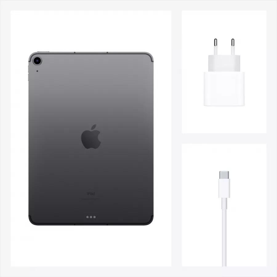 "Apple iPad Air 4 10.9"" 2020 256ГБ Wi-Fi + Cellular ""Серый космос"". Вид 8"