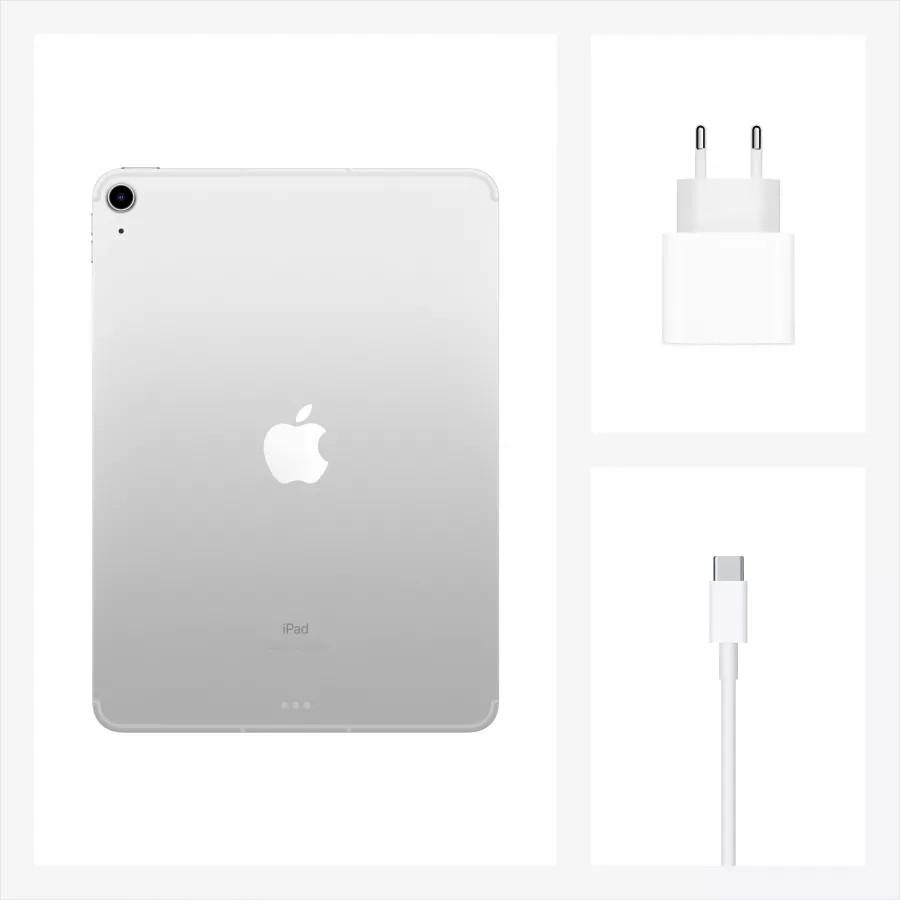 "Apple iPad Air 4 10.9"" 2020 64ГБ Wi-Fi + Cellular Серебристый. Вид 8"
