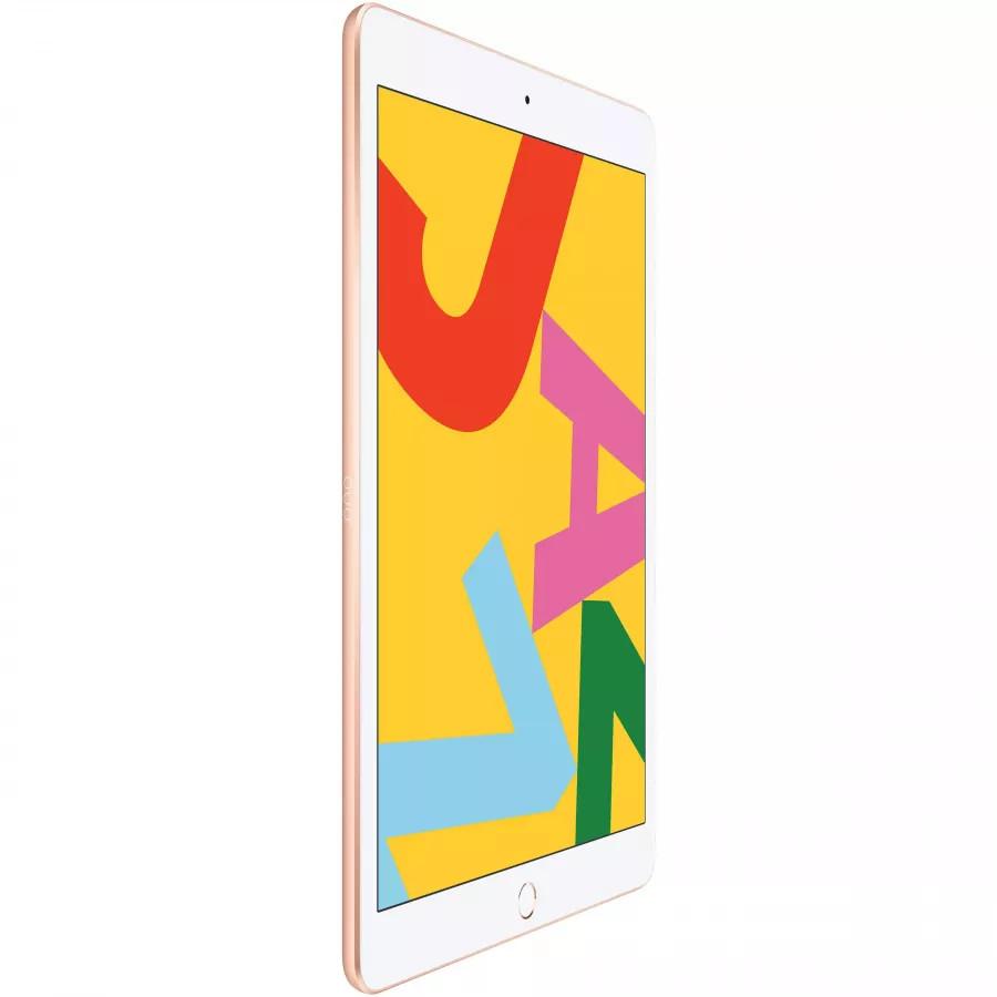 Apple iPad 10.2 (2019) 128ГБ Wi-Fi + Cellular - Золотой (Gold). Вид 3