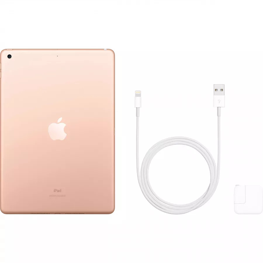 Apple iPad 10.2 (2019) 128ГБ Wi-Fi - Золотой (Gold). Вид 4